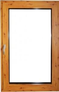 okna aluminiowe drewno podobne