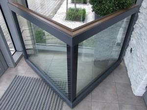 okna aluminiowe narożne
