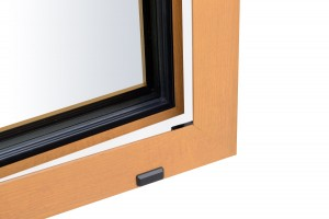 okna aluminiowe ukryte skrzydło